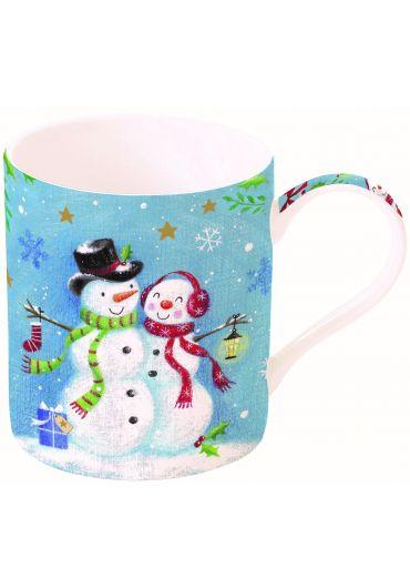 Cana portelan - With love at Christmas Snowmen