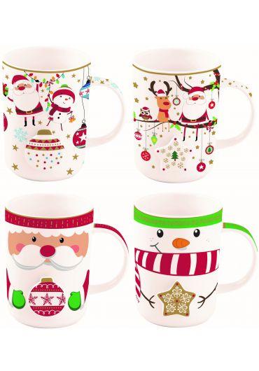 Cana portelan - Christmas Characters