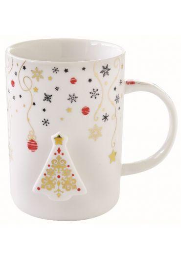Cana portelan - Merry Christmas