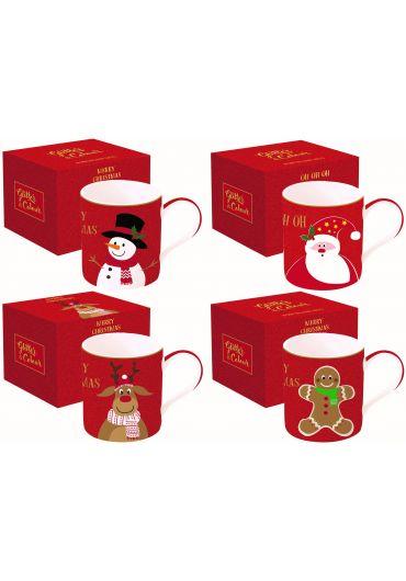 Cana portelan - Glitter & Colour Christmas