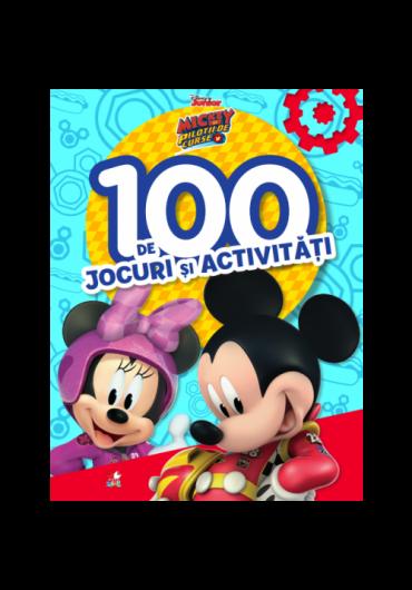 Disney. Mickey si pilotii de curse. 100 de jocuri si activitati