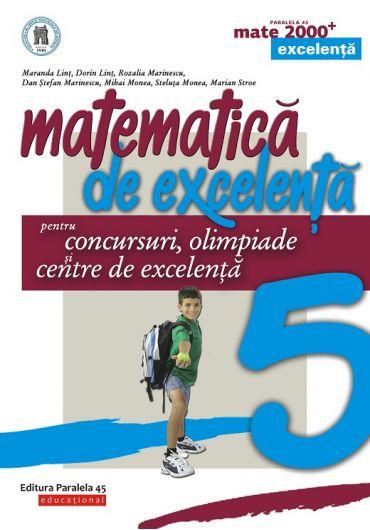 Matematica de excelenta pentru concursuri, olimpiade si centrele de excelenta cl. V-a