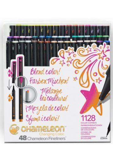 Set 48 Fineliner Chameleon Chanching Color Brilliant
