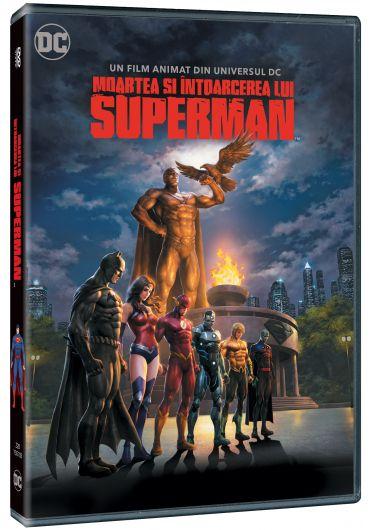Moartea si intoarcerea lui Superman DVD