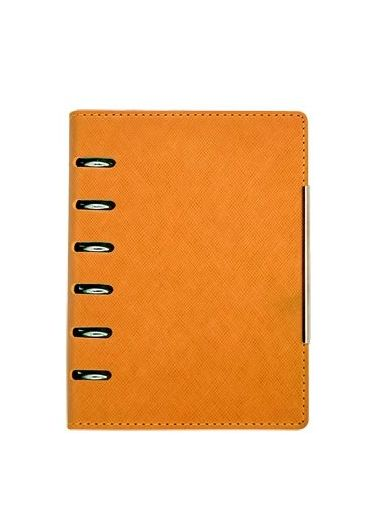 Organizer A6 6 inele orange