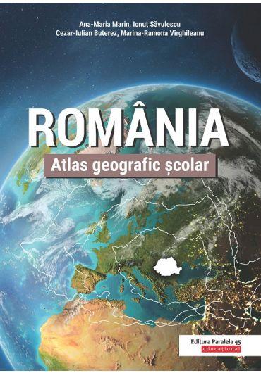 Atlas geografic scolar Romania ed II