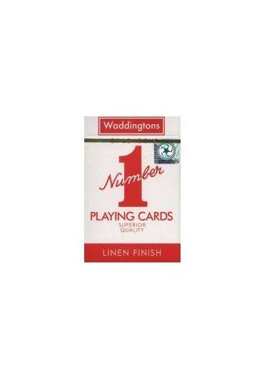 Carti de joc Waddingtons Classic Rosu - Albastru