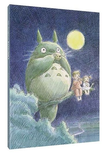 Jurnal - My Neighbor Totoro Journal - Hayao Miyazaki Concept