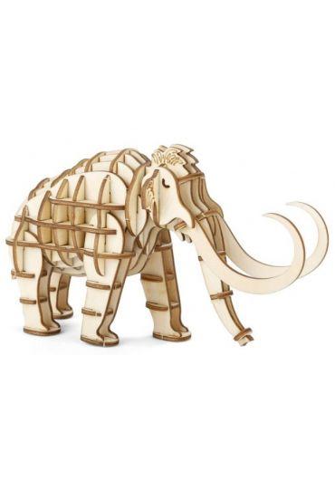 Puzzle 3D lemn - Mammoth