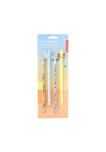 Set 4 creioane - Safari Animal