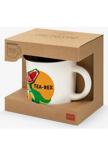 Cana portelan Cup-Puccino - Tea Rex