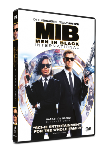 Men in Black International/Barbati in Negru International DVD