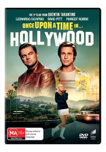 Once Upon a Time in... Hollywood/A fost odata la... Hollywood DVD