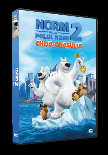 Norm of the North 2: Keys to the Kingdom/Norm de la Polul Nord 2: Cheia orasului DVD
