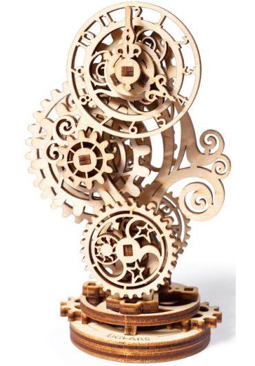 Puzzle 3D lemn - Ceas Steampunk