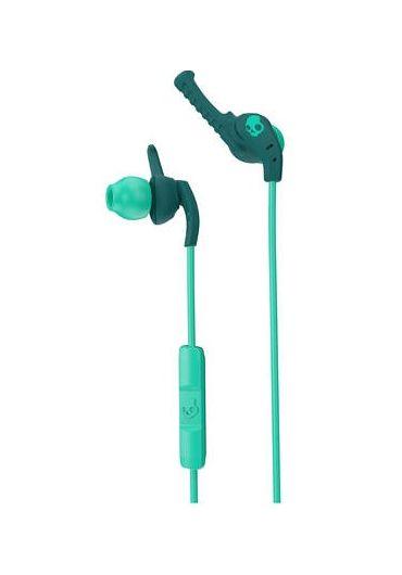 Casti Skullcandy Xtplyo Teal & Green In-Ear Headphones with Mic