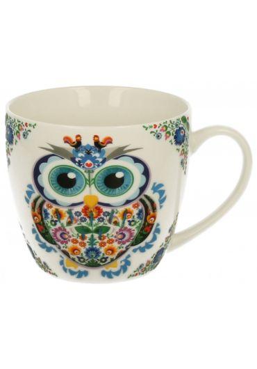 Cana portelan - Owl - Sowa B