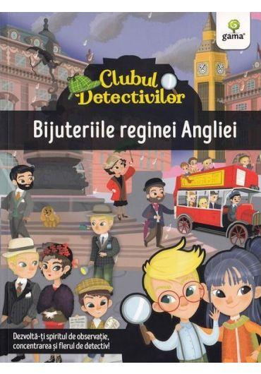 Clubul detectivilor. Bijuteriile Reginei Angliei
