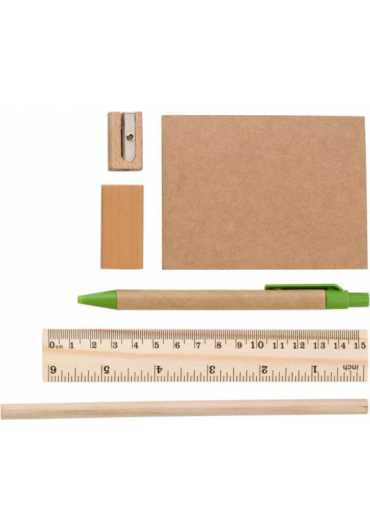 Writing case from non-woven notepad