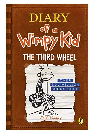 Diary of a Wimpy Kid book 7. The Third Wheel