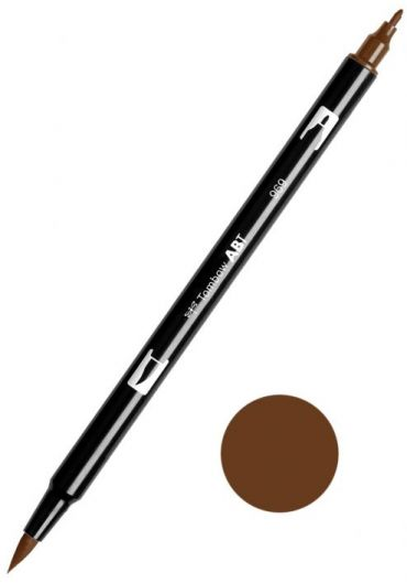 Marker Tombow ABT Dual Brush Chocolate