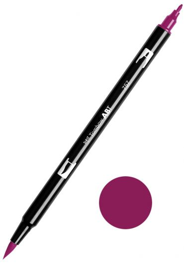 Marker Tombow ABT Dual Brush Port Red