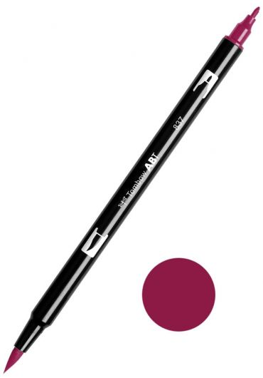 Marker Tombow ABT Dual Brush Wine Red