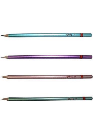Creion lemn metalizat HB