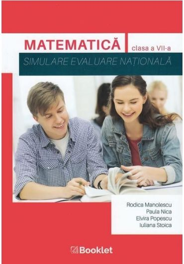 Matematica, simulare, evaluare nationala, clasa a VII-a