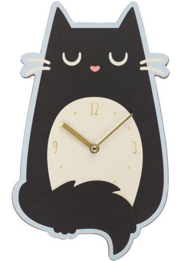 Ceas de perete - Feline Fine Cat