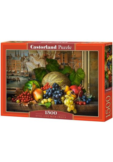 Puzzle 1500 piese Still Life with Fruits