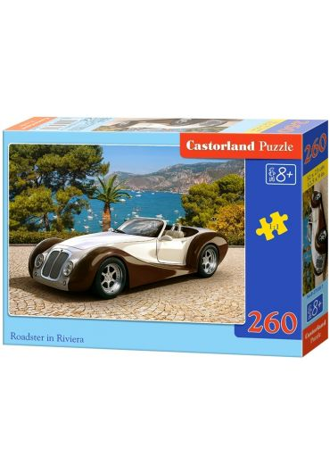 Puzzle 260 piese Roadster in Riviera