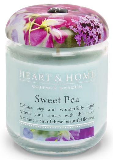 Lumanare parfumata Jar - Sweet Pea