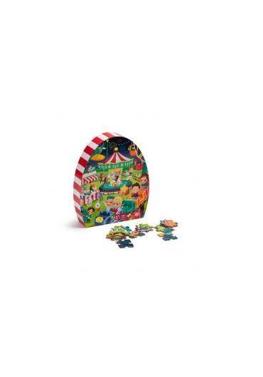 Puzzle educativ - Parcul de distractie