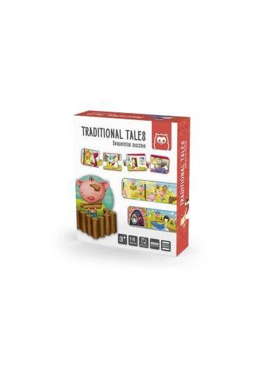 Puzzle educativ Montessori - Povesti traditionale