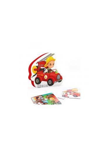 Puzzle progresiv 4in1 - Micul Pompier