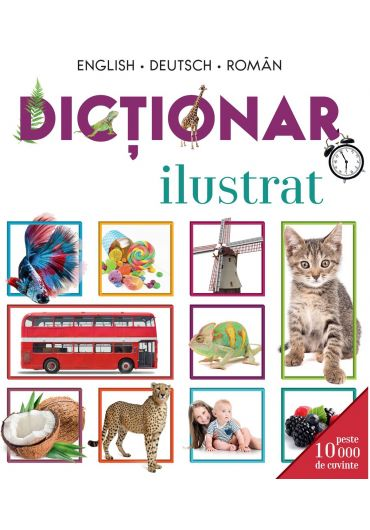 Dictionar ilustrat English-Deutsch-Roman