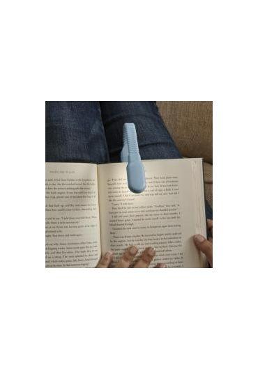Lampa pentru citit - Clip Book Light - Blue