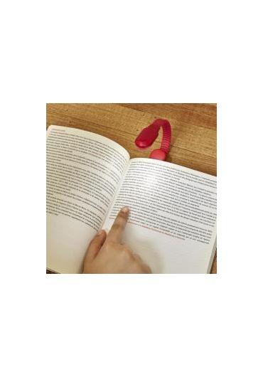 Lampa pentru citit - Clip Book Light - Red