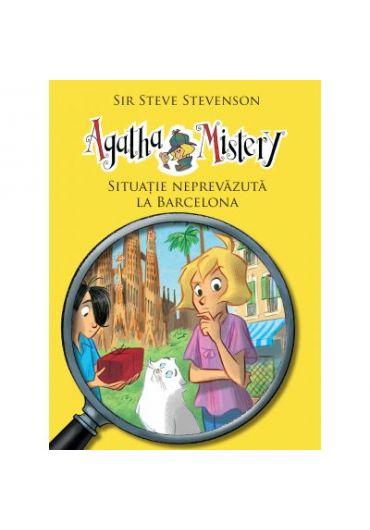 Agatha Mistery. Volumul 8, Situatie neprevazuta la Barcelona