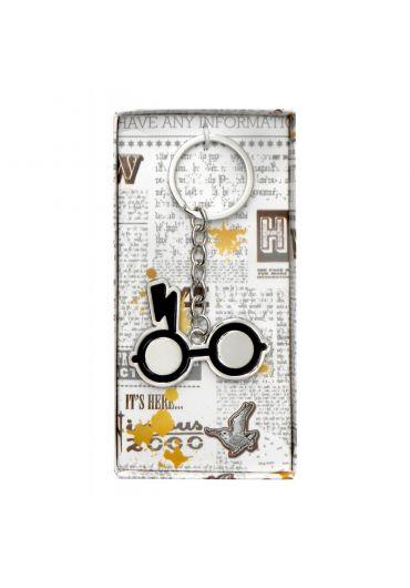 Breloc Metalic Harry Potter Scar & Glasses