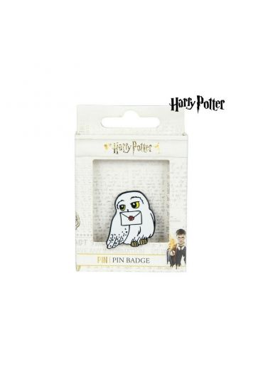 Insigna Metal Harry Potter Hedwig