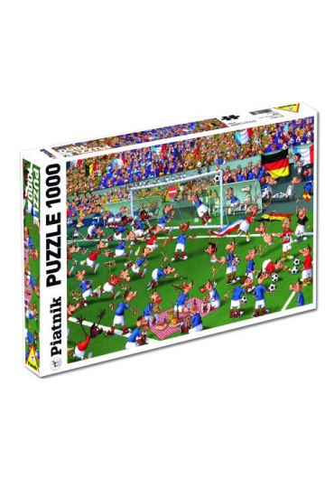Puzzle 1000 piese Football - Francois Ruyer