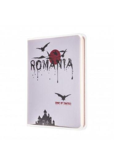 Agenda nedatata Dracula foaie alba 120 pagini