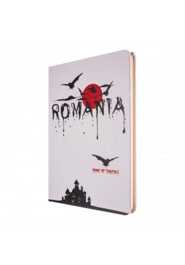 Agenda nedatata Dracula foaie alba 144 pagini