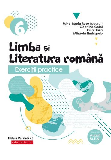 Exercitii practice de limba si literatura romana. Caiet de lucru. Clasa a VI-a