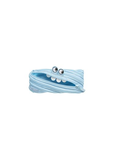 Penar cu fermoar Zipit George Monster - Albastru