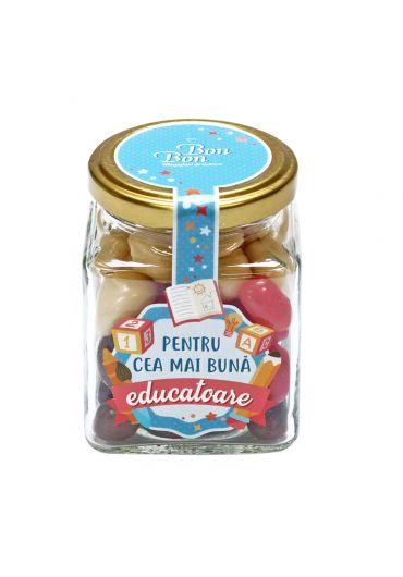 Borcan Bonbon - Pentru cea mai buna educatoare