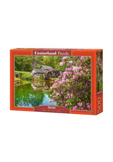 Puzzle 500 piese Mill By The Pond