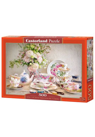 Puzzle 500 piese Still Life with Porcelain